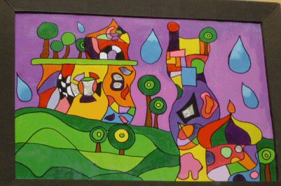 examples of painting friedrich hundertwasser dye and colourflow